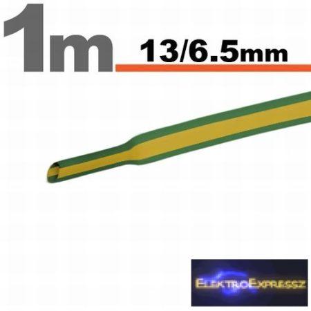 GA-11024X Zsugorcső Sárga-zöld • 13 / 6,5 mm