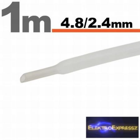 GA-11025T Zsugorcső Transparens • 4,5 / 2,25 mm