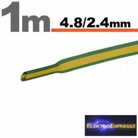 GA-11025X Zsugorcső zöld-sárga • 4,5 / 2,25 mm