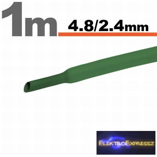 GA-11025Z Zsugorcső Zöld • 4,5 / 2,25 mm