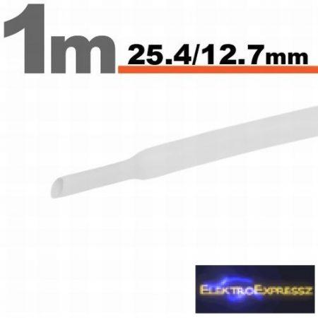GA-11027W Zsugorcső Fehér • 25,4 / 12,7 mm