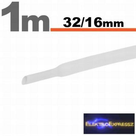 GA-11028W 32/16 Fehér zsugorcső