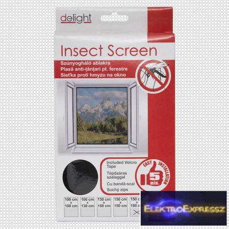 GA-11604BK - Szúnyogháló ablakra fekete 150x180