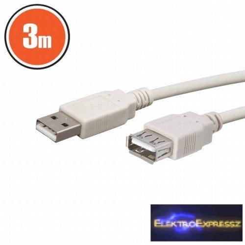 GA-20167 USB hosszabbító A aljzat - A dugó 3,0 m