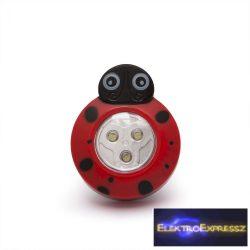 Nyomógombos lámpa