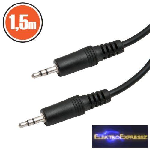 GA-20305 JACK kábel 3.5 JACK dugó - 3.5 JACK dugó 1,5 m