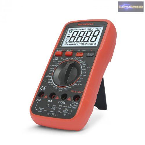 GA-25302 Digitális multiméter Feszültség kereséssel