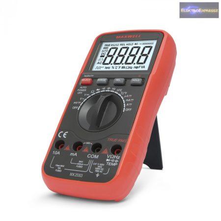 GA-25303 Digitális multiméter hőmérséklet méréssel