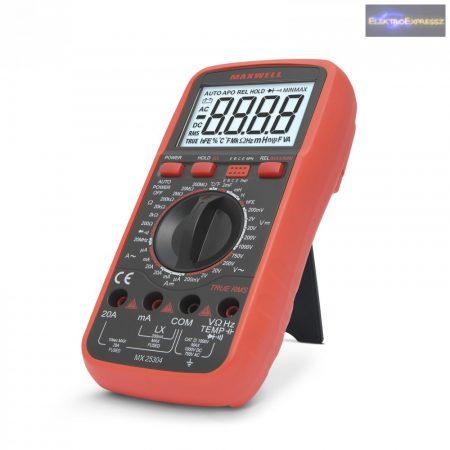 GA-25304 Digitális multiméter induktivitás méréssel