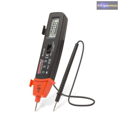GA-25401 Digitális multiméter LED lámpával