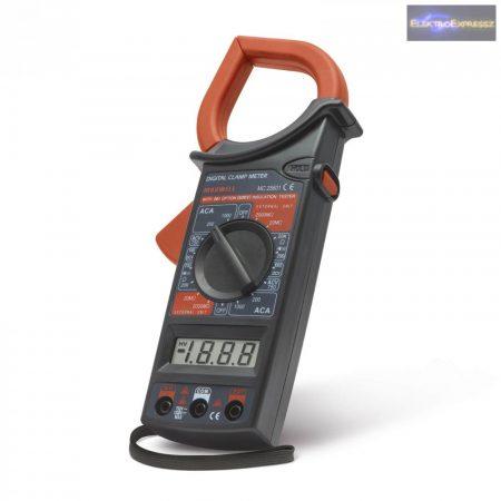 GA-25601 Digitális lakatfogó ellenállás méréssel