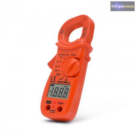 GA-25605 Digitális lakatfogó ellenálás méréssel