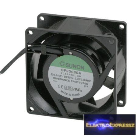 GA-55014 Ventilátor 230V AC 80 x 80 x 38 mm