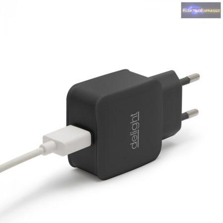 USB Hálózati adapter fekete 5 V - 1.2 A