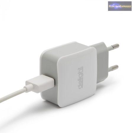 USB Hálózati adapter fehér 5 V - 1.2 A