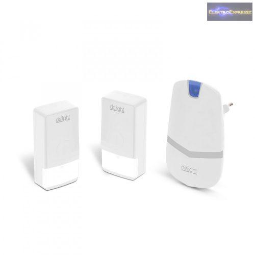 Digitális elem- és vezeték nélküli csengő - Kinetic