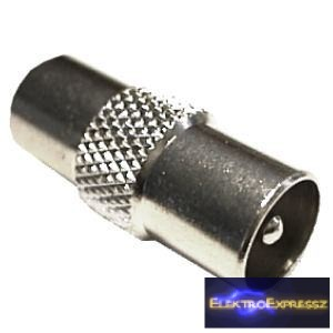 ET-1032 Koax fém toldó (dugó - dugó)