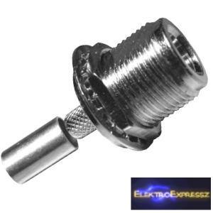 ET-3315 N krimpelhető lengő/beépíthető aljzat