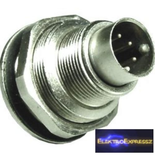ET-5731 7 pólusú mini DIN dugó