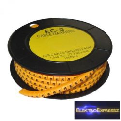 ET-5893AB-5-CS Kábel jelölő 5-ös 2,6-4,2mm2