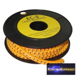 ET-5893AB-7-CS Kábel jelölő 7-es 2,6-4,2mm2