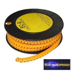 ET-5893AK-2-CS Kábel jelölő 2-es 4-6mm2