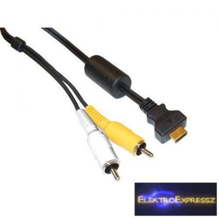 ET-92167 Kamera AV kábel CASIO 1,5m