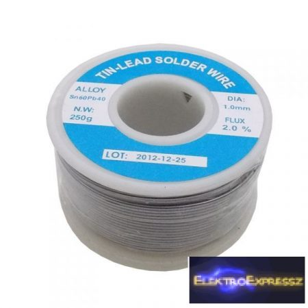 ET-S1-250G Forrasztó ón, Sn60, Pb40 (250gr.)-1mm