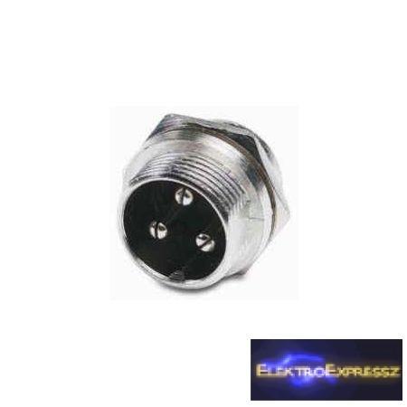 LP-05-1140-Mikrofon csatlakozó 3 tűs PANEL
