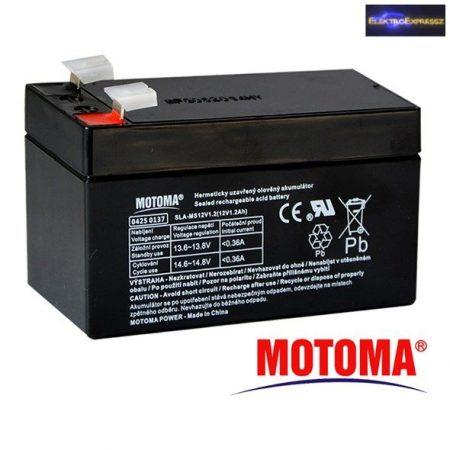 ET-7061 Zselés akkumulátor 12V/1,3Ah