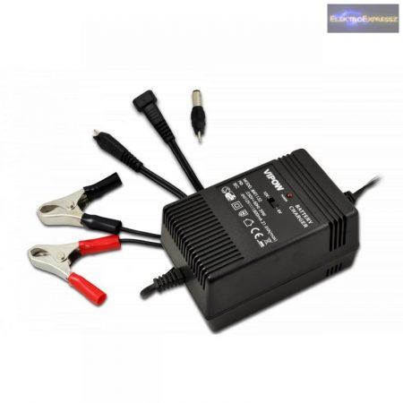 Akkumulátor töltő 6-12V 1800MA
