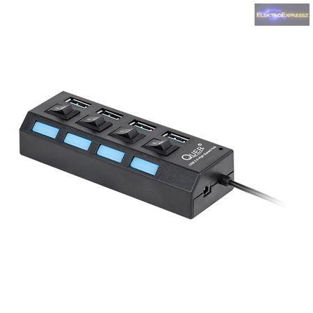 LP-KOM0737 USB hub switch, 10 portos,