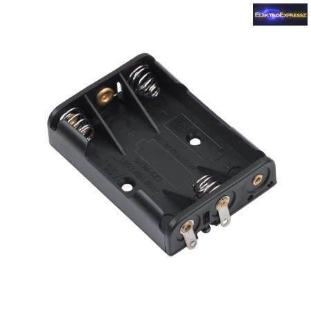 ET-2164A 4-es AA elem tartó