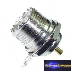 ET-3326 UHF aljzat, csavaros rögzítéssel