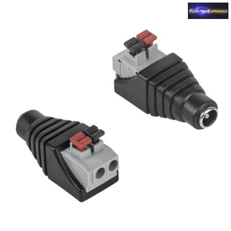 ET-2019B DC dugó sorkapocs véggel 2,1/5,5/11mm