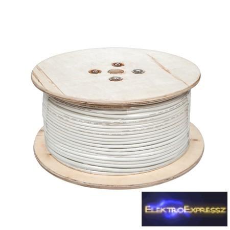 LP-KAB0010  koaxiális kábel 305 m 3 x árnyékolt