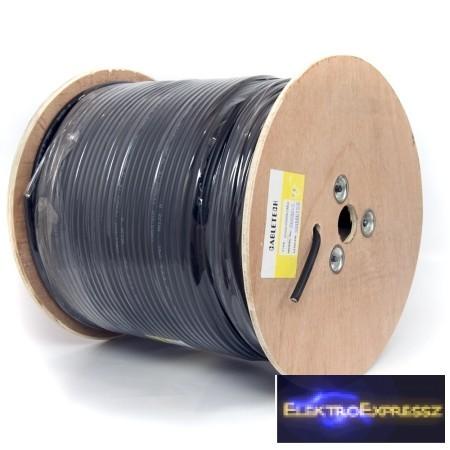 LP-KAB0020 Koax kábel Fekete GEL F690BV + 305M