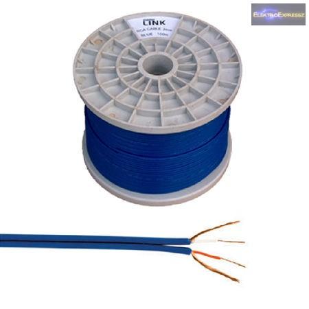 LP-KAB0200-2   2-eres árnyékolt kábel (2 x RCA), tekercs 250 m