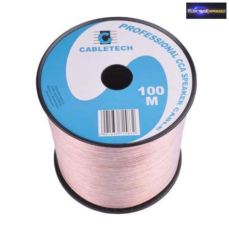 ET-6528CX Transparent hangszóró kábel 2x2,5mm2