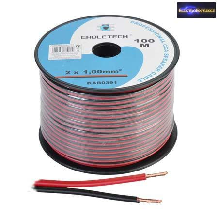 ET-6545 Transparent hangszóró kábel 2x1mm2