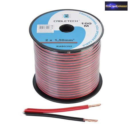 ET-6527-5 2x1,5mm2 transparent kábel