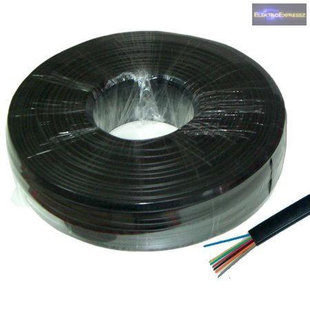 LP-KAB0503CCA 4 eres telefon vezeték. Szin: fekete.