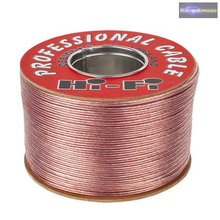 hangszóró HI-FI kábel 2X0,75 mm 200M réz