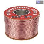 hangszóró HI-FI kábel 2X1,5 mm 100M réz