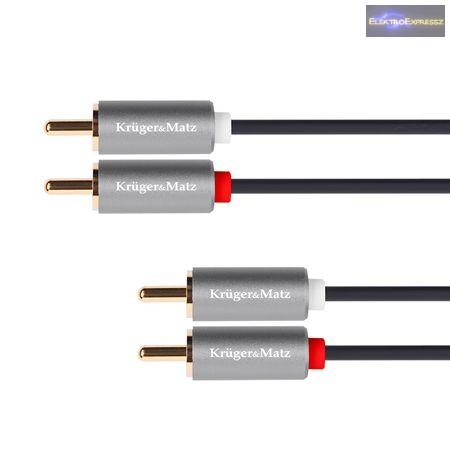 GA-20103 RCA kábel 2 x RCA dugó - 2 x RCA dugó 1,0 m