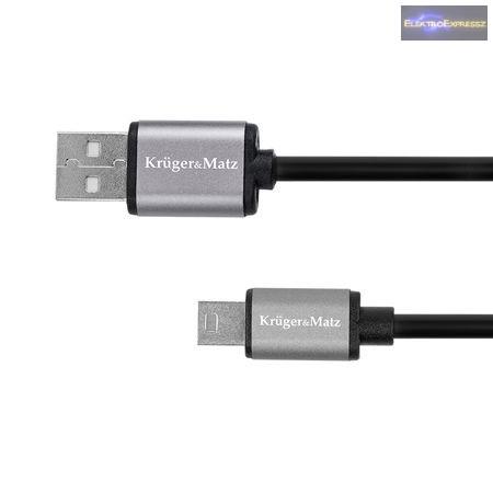 USB KÁBEL - MINI USB 1M BASIC K & M