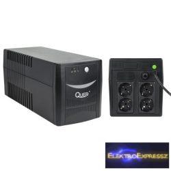 LP-KOM0553 QUER UPS 1000VA/600W Szünetmentes tápegység