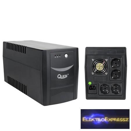 LP-KOM0554 QUER UPS 1500VA/900W Szünetmentes tápegység