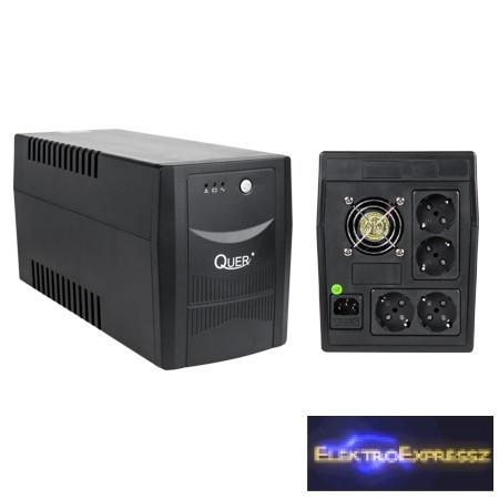 LP-KOM0555 QUER UPS 2000VA/1200W Szünetmentes tápegység