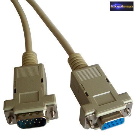 DB9 Hosszabbító kábel 1,8m